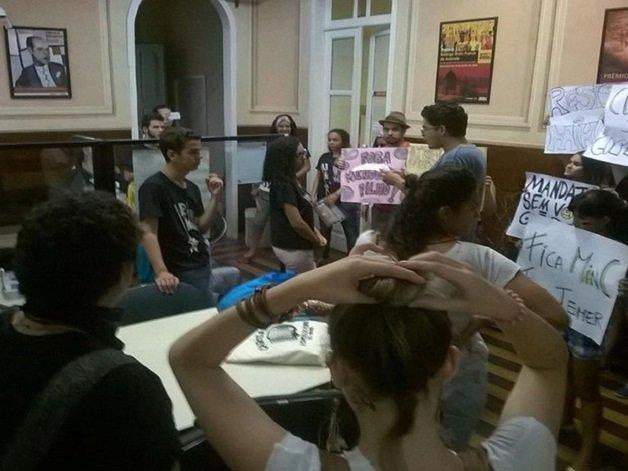 Ocupação em Sergipe. Foto: Frente Sergipana Brasil Popular