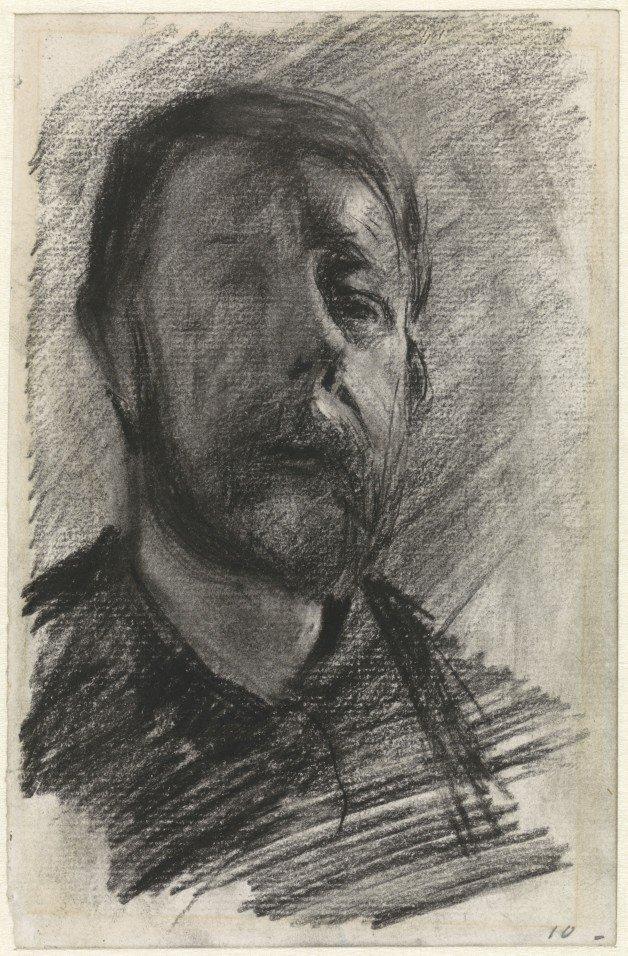 George Hendrik Breitner - Autoretrato