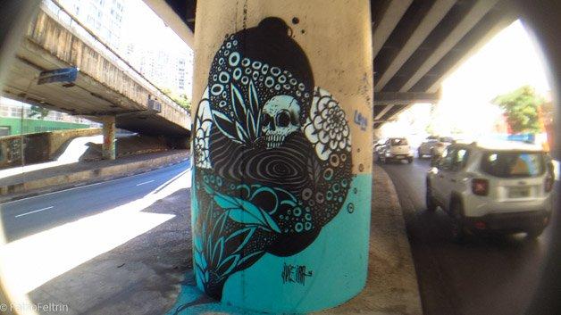 Graffiti-Minhocao