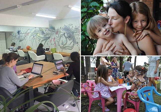 Mamaworking: o incrível coworking curitibano pensado para as mamães ficarem mais perto de seus filhos