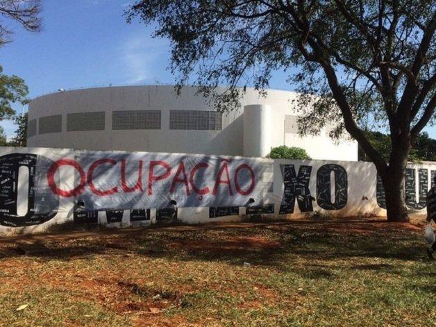 Protesto em Brasília. Foto: Mateus Vidigal