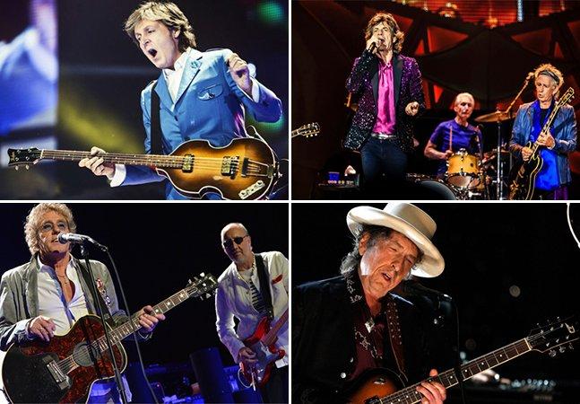 'Oldchella': o festival dos sonhos chega em outubro e junta lendas como Dylan, Stones e McCartney