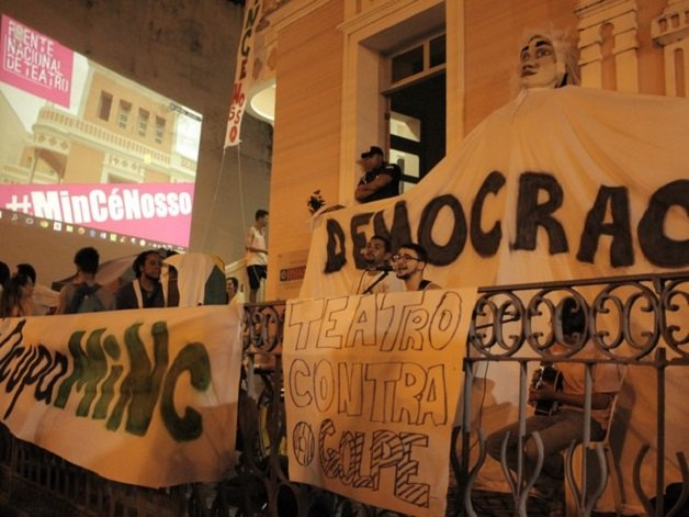 Protesto em Natal. Foto: Paula Vanina