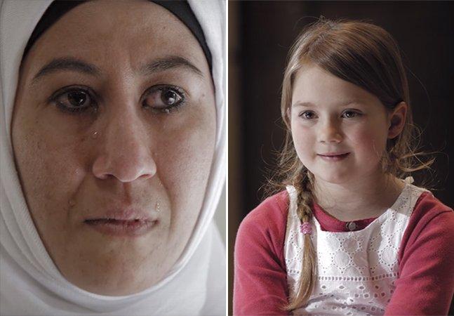 Vídeo tocante mostra o que acontece quando refugiados e europeus se olham nos olhos