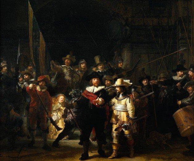 Rembrandt - A Ronda Noturna