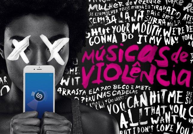 Aplicativo promove ação para denunciar músicas de violência contra a mulher
