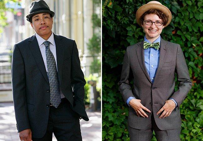 Grife se especializa em roupas masculinas para mulheres cis e homens trans