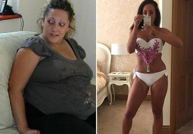 Mulher perde quase 50kg e faz disso um negócio: faturando milhares com sua dieta caseira