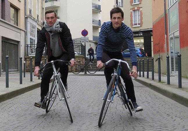 Amigos criam bicicleta com quadro articulado para aumentar adrenalina dos ciclistas