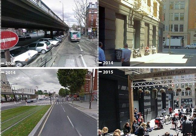 Startup brasileira mostra o 'antes e depois' de cidades que mudaram em prol dos pedestres