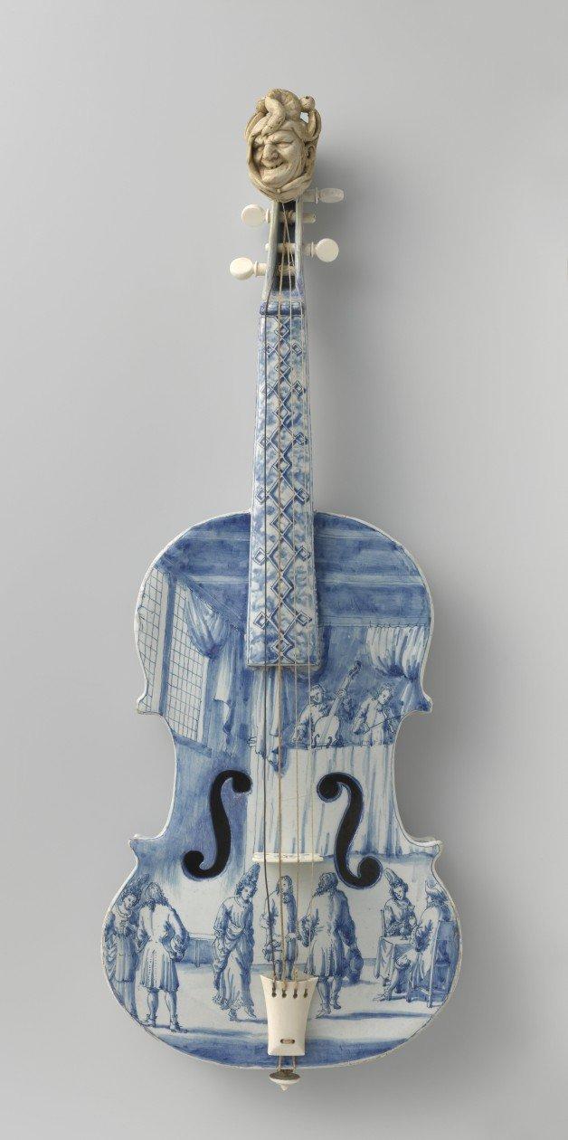 Violino do Século XVIII (Autor desconhecido)