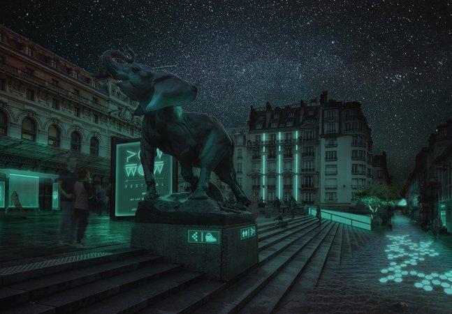 Sabia que todos os seres vivos podem  produzir luz própria para iluminar  as cidades sem eletricidade?
