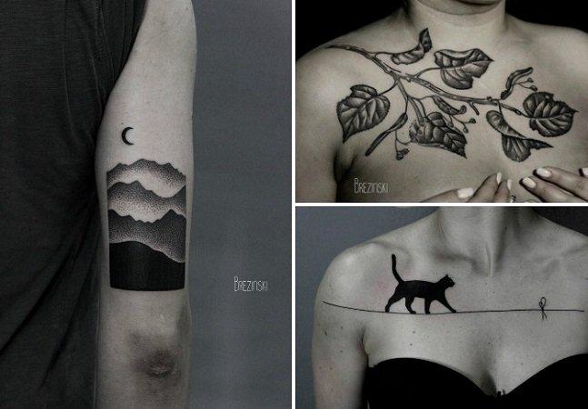 As tatuagens surreais deste artista vão te dar vontade de ter arte na pele também
