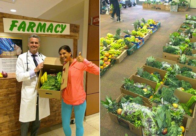 Médico cria farmácia que receita alimentos frescos ao invés de remédios