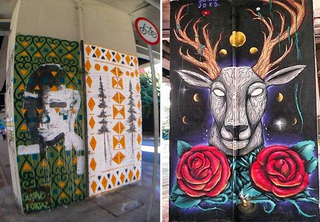 Minhocão ganha novos grafites, mas enfrenta um desafio: a propaganda ilegal nos muros