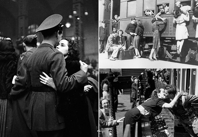 Amor em tempos de guerra: esta série de fotos é histórica e totalmente inspiradora