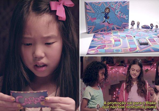 Vídeo propõe jogo que  empodere meninas ao  invés de reforçar estereótipos