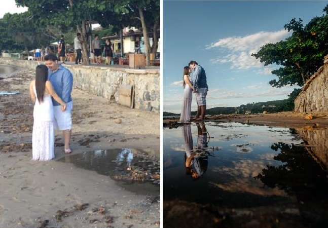 Fotógrafo revela a realidade por trás de foto de casamento e viraliza