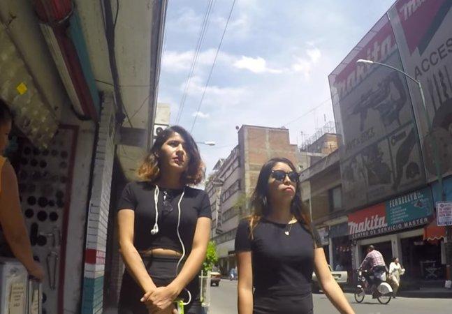 Essas duas garotas decidiram mostrar o que acontece quando confrontam os homens que as assediam na rua