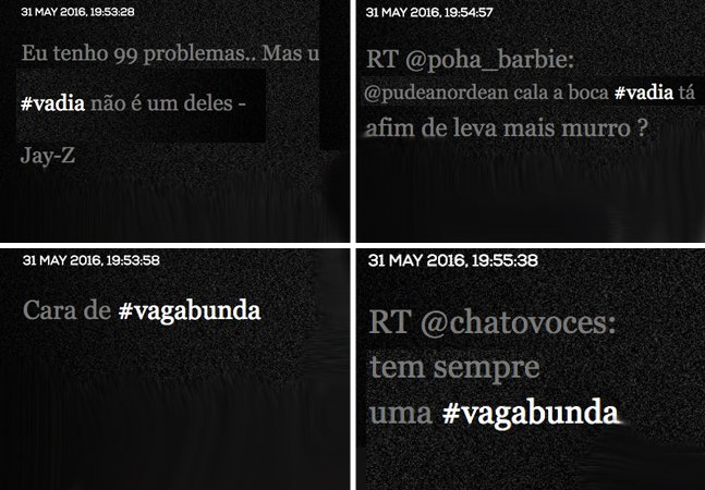 Estupro Verbal: a cada segundo,  muitas mulheres são brutalmente  desrespeitadas no Brasil