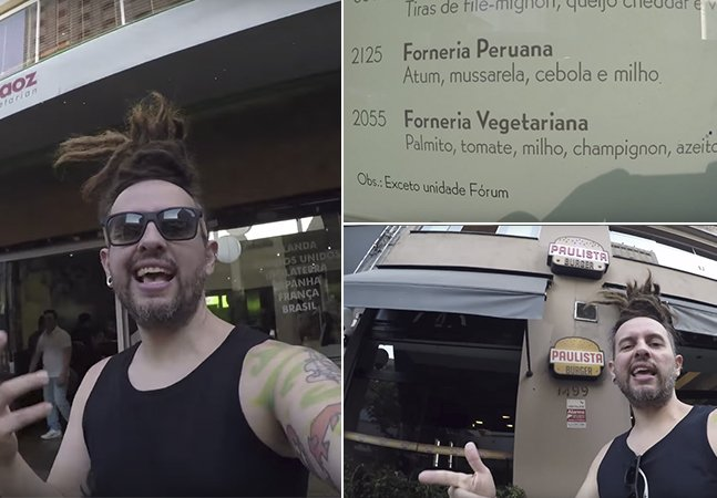 Ator cria roteiro incrível para comer na rua mais vegana do Brasil