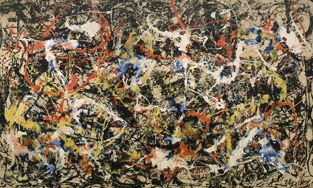Quadro de Pollock