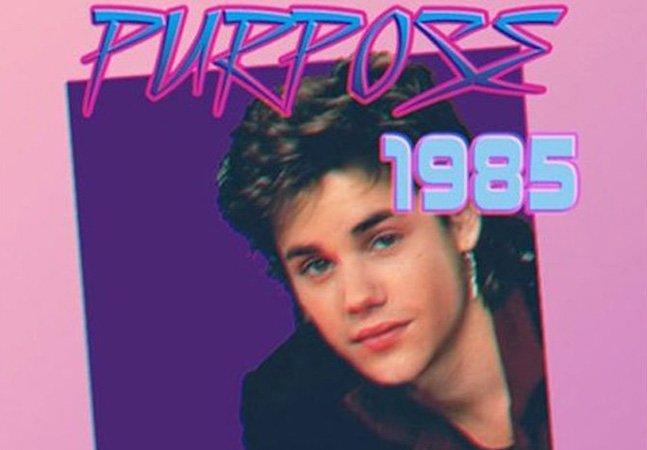 Artista reimagina músicas de Justin Bieber como clássicos dos anos 1980 e o resultado é hilário