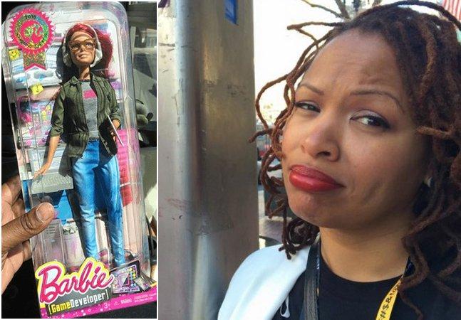 Ele se candidatou a 'melhor marido do mundo' ao repaginar Barbie em versão negra para a esposa