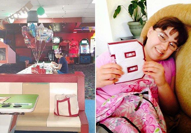 A internet está se unindo pra dar um aniversário feliz à menina autista que ficou sozinha em sua festa de 18 anos