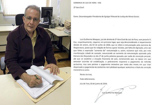 Juiz brasileiro abre mão de aumento salarial até que a situação financeira do país melhore