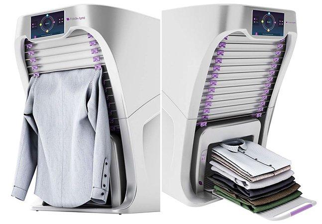 Conheça o incrível robô que dobra sua roupa em menos de 1 minuto