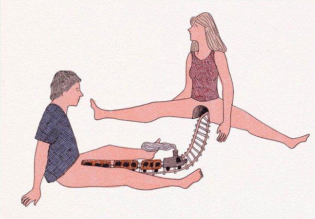 Conheça a arte erótica  e bem humorada de Marion Fayolle