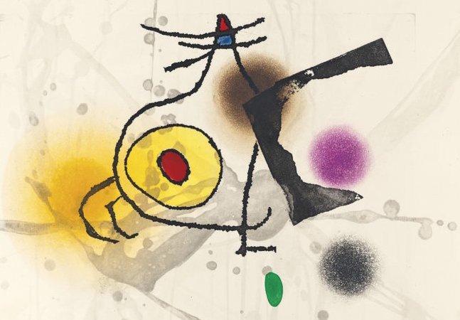 Neto de Miró faz doação de obras  do pintor para ajudar refugiados