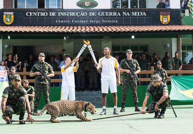Exército abate onça após evento de passagem da Tocha Olímpica em Manaus e gera polêmica