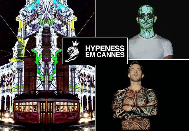 O incrível (e hipnótico!) vídeo mapping da dupla portuguesa que abriu o Cannes Lions 2016