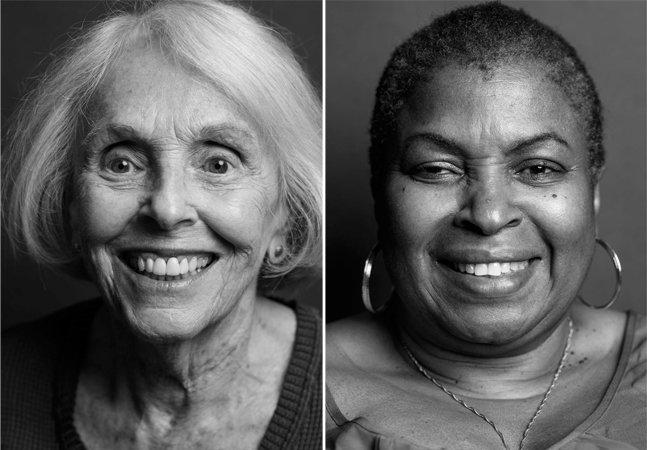 Fotógrafo retrata de perto mulheres acima dos 50 pra exaltar a beleza das rugas e das histórias por trás delas