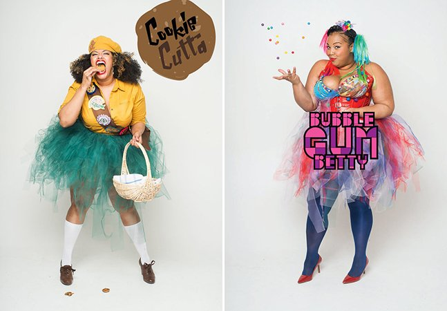 As super-heroínas da vida real que estão lutando pela aceitação do corpo feminino