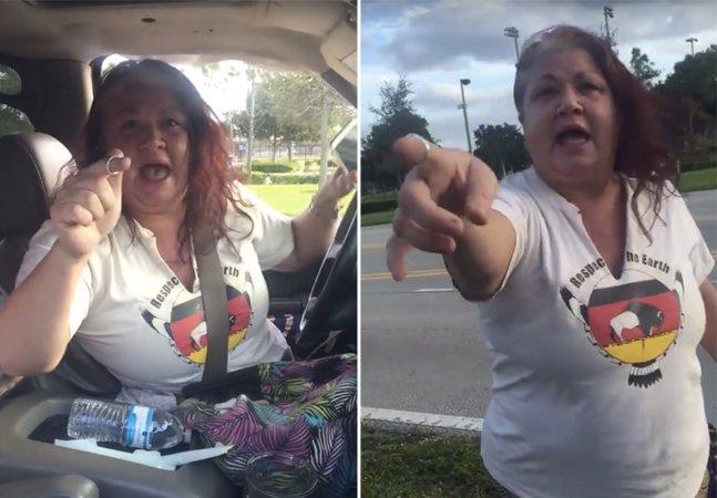 Vídeo mostra americana chamando brasileiros de terroristas nos EUA