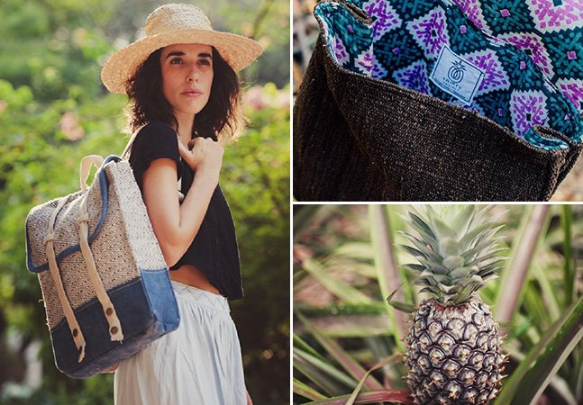 Com abacaxi e sem exploração, marca levanta a bandeira da moda ética e sustentável