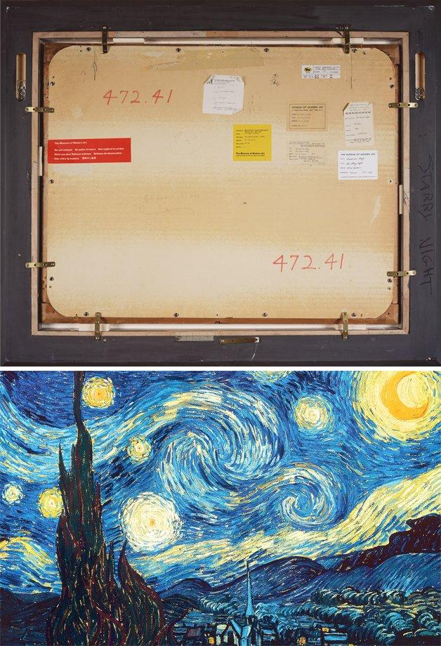 """Noite estrelada"", de Van Gogh"