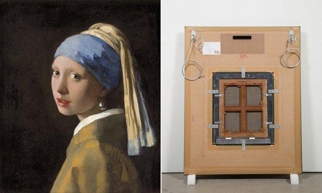 """""""Moça do brinco de pérola"""", de Vermeer"""