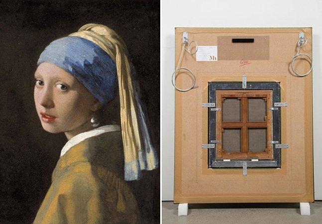 """Vik Muniz revela o que há """"nas costas"""" de algumas das pinturas mais famosas do mundo"""