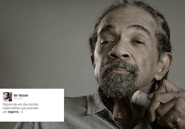 """""""A voz do cigarro"""": campanha brasileira chocante alerta para o perigo do tabaco"""