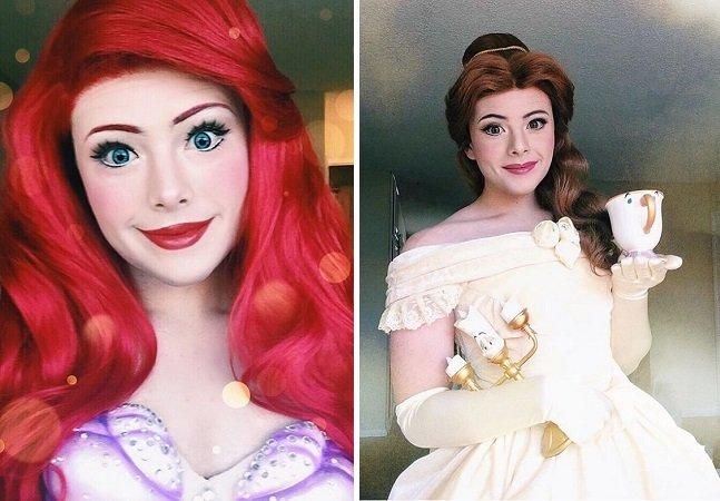 Este garoto é o melhor cosplay de princesas da Disney que você já viu