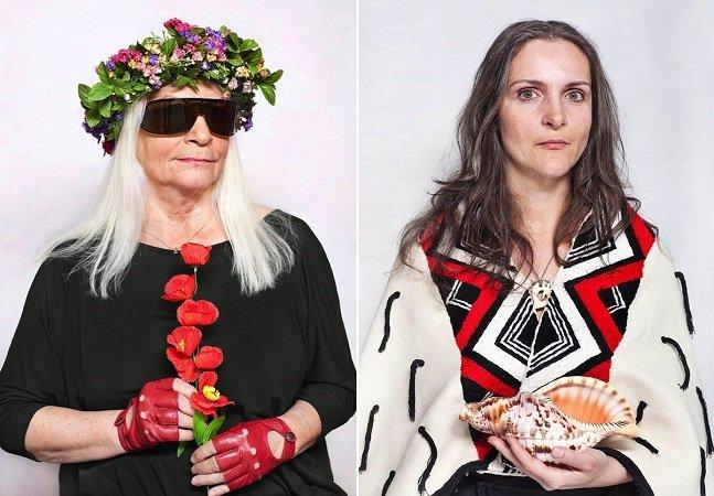 Projeto fotográfico revela  que as 'bruxas modernas' são  na verdade mulheres de poder