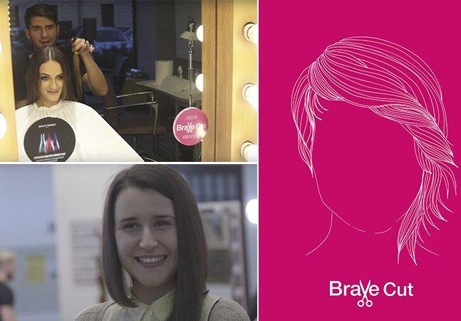 Agência se une a ONG para criar corte de cabelo de luta contra o câncer em campanha incrível