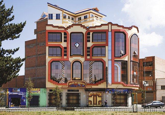 A arquitetura boliviana psicodélica vai te surpreender