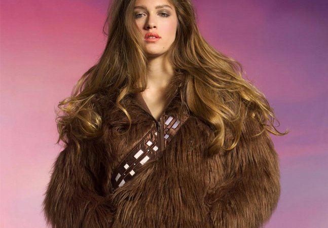 Essa jaqueta de Chewbaca vai te esquentar e te deixar  com um look intergalático