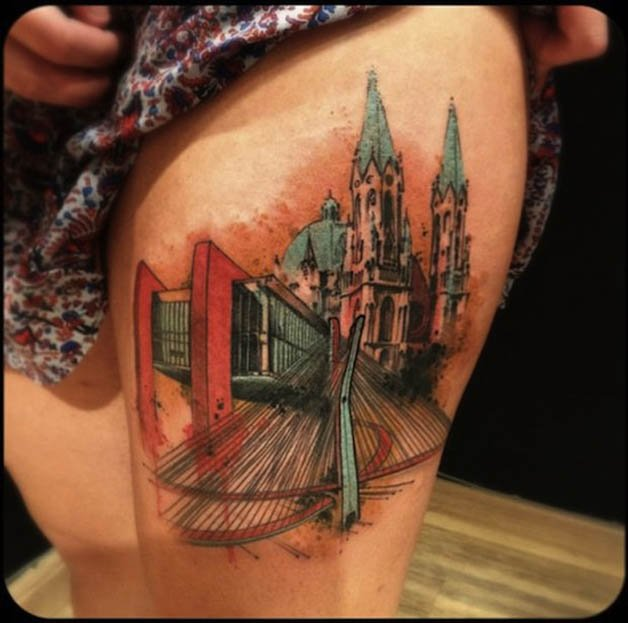 city-by-Victor-Montaghini-tattoo-artist-Sao-Paulo-Brazil