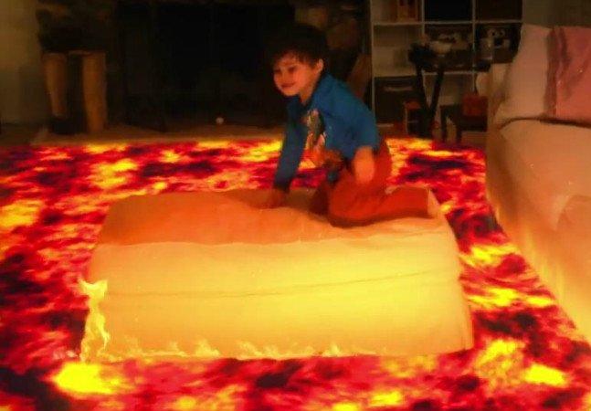 Pai usa efeitos especiais para fazer com que seu filho protagonize aventuras alucinantes